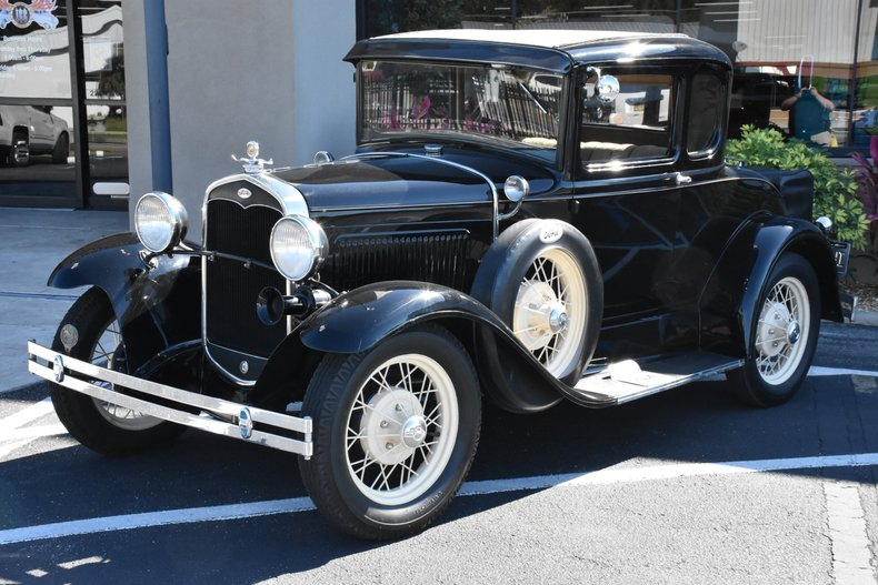 1931 ford model a deluxe 5 window coupe