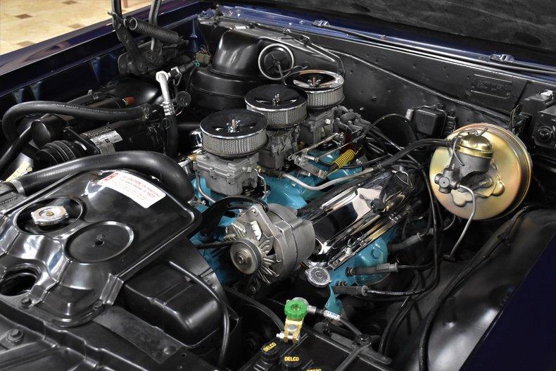 1965 pontiac gto tri power