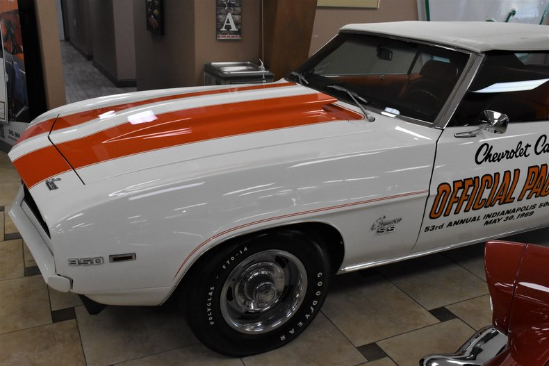 1969 chevrolet camaro rs ss z11 pace car