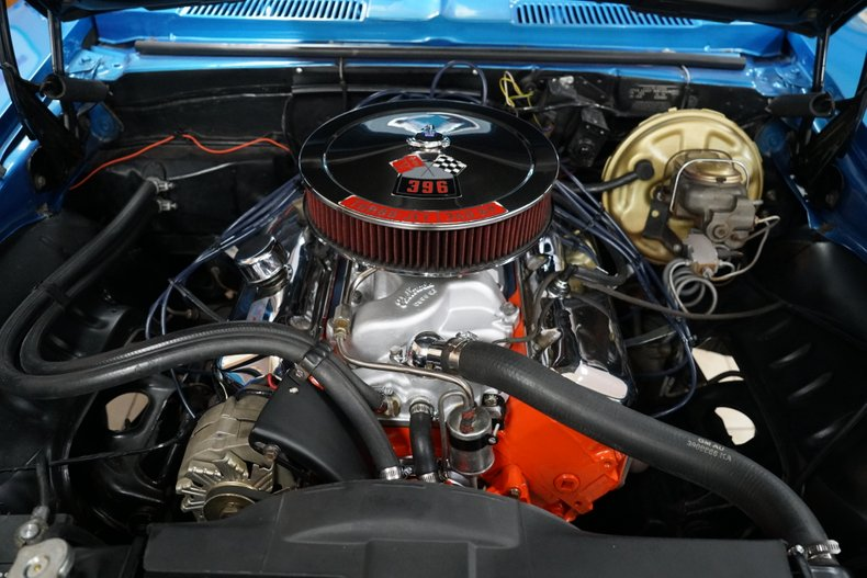 1969 chevrolet camaro ss 396 big block