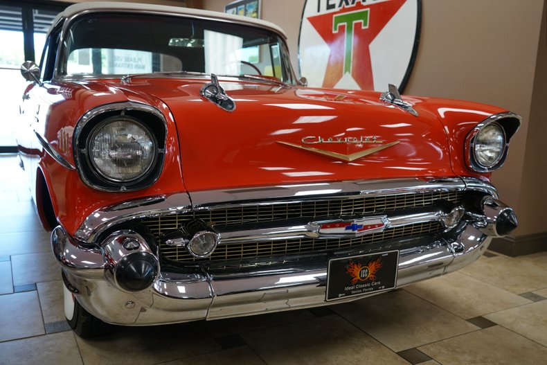 1957 chevrolet bel air fuelie