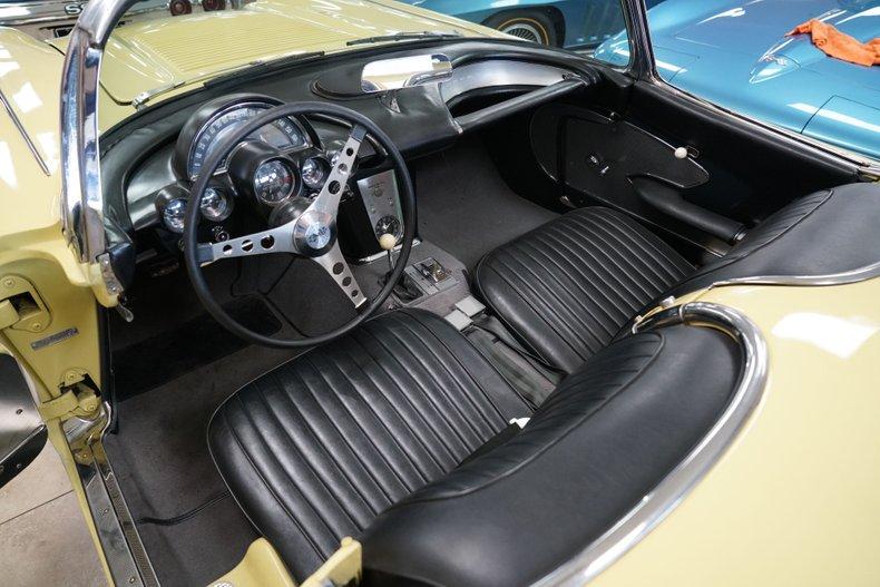 1958 chevrolet corvette 2x4bbl