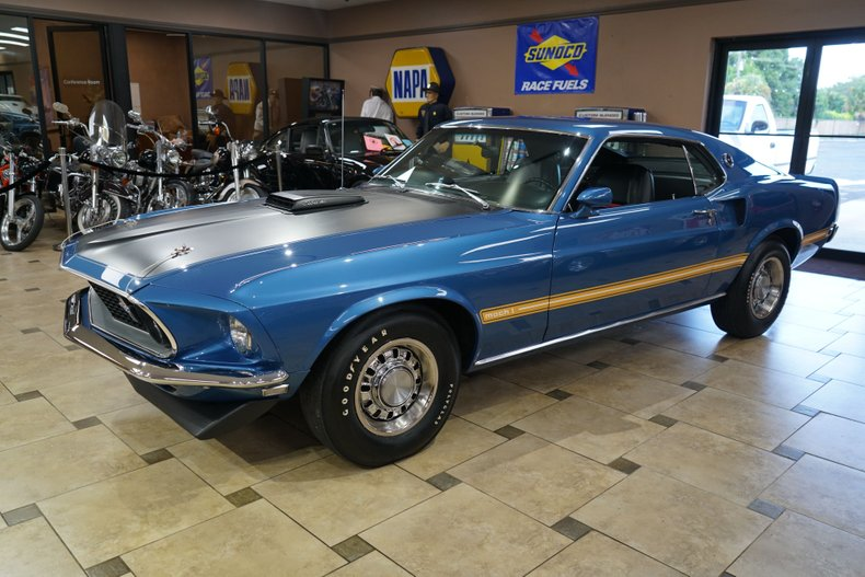 1969 ford mustang mach 1 scj