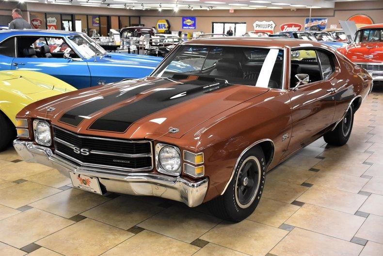 1971 chevrolet chevelle ss454 ls5
