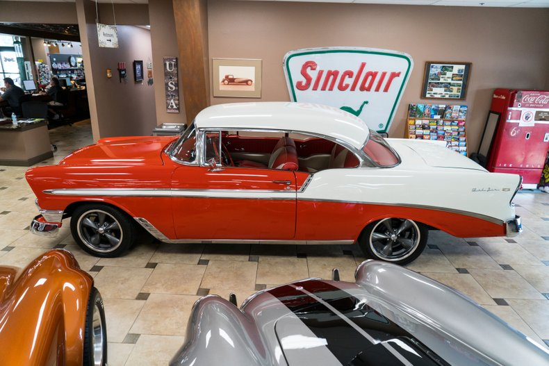 1956 chevrolet bel air restomod