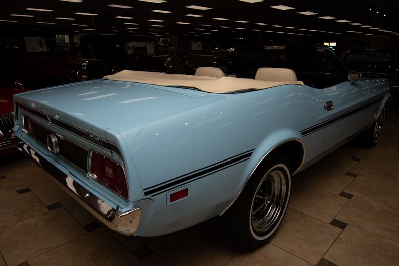 1973 ford mustang convertible
