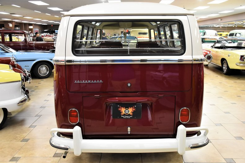 1966 volkswagen type 2 samba 21 window