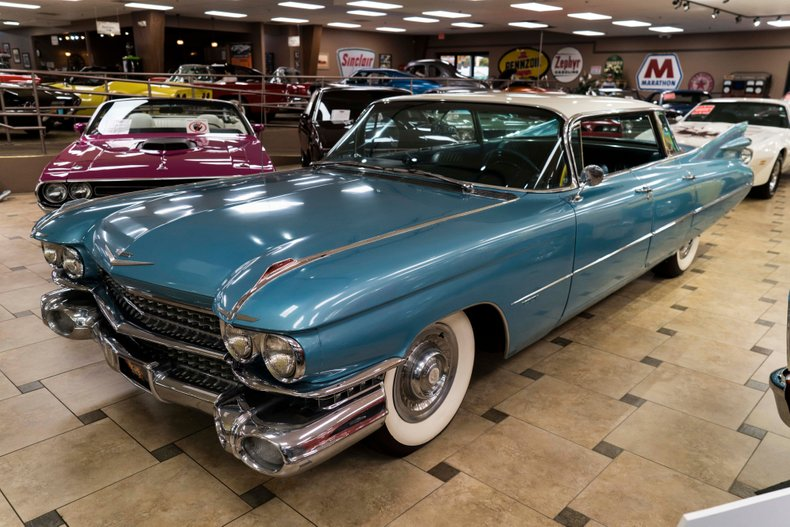 1959 cadillac series 62 flat top