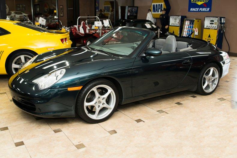2004 porsche 911 carrera cabriolet