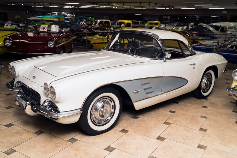 1961 chevrolet corvette one owner
