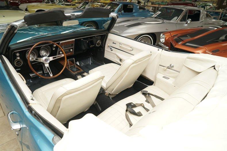 1968 chevrolet camaro convertible