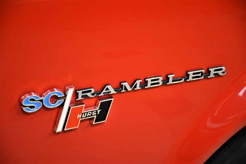 1969 amc sc rambler hurst