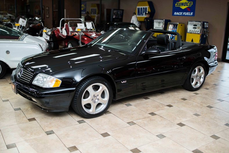 2000 mercedes benz sl600