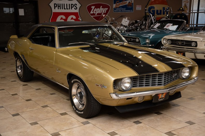 1969 chevrolet camaro z 28 x33