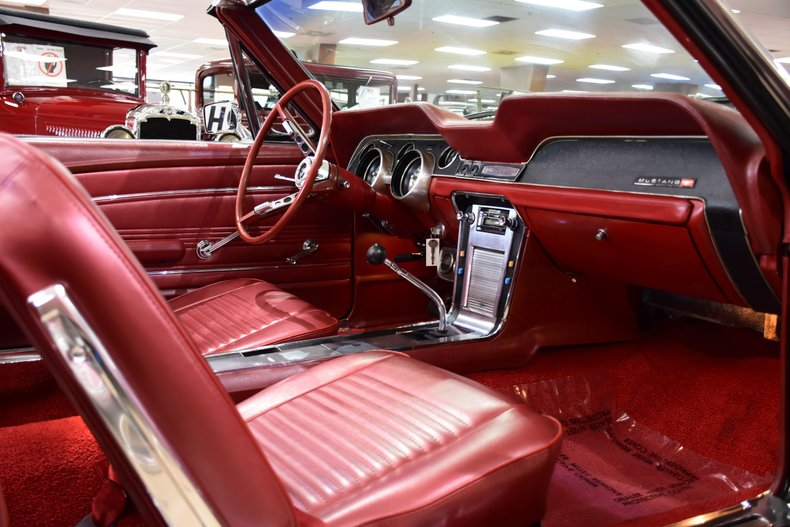 1967 ford mustang gt convertible