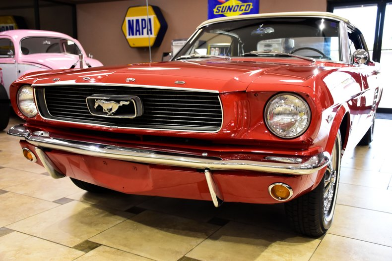 1966 ford mustang convertible v8 4 speed