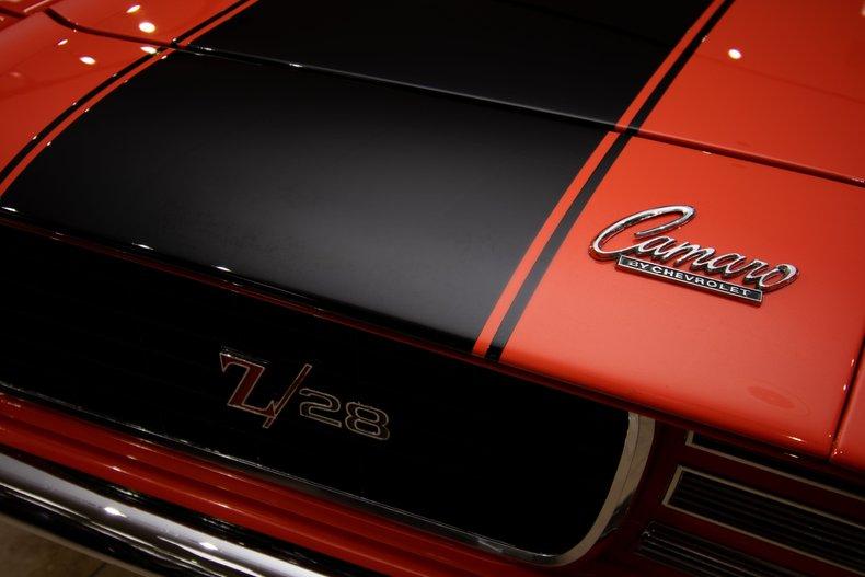 1969 chevrolet camaro z 28 rs x33