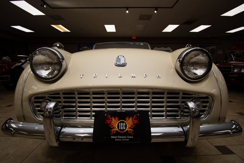 1961 triumph tr3