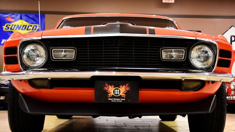 1970 ford mustang mach 1