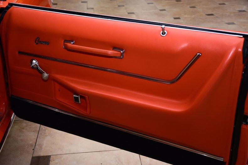 1969 chevrolet camaro rs ss restomod
