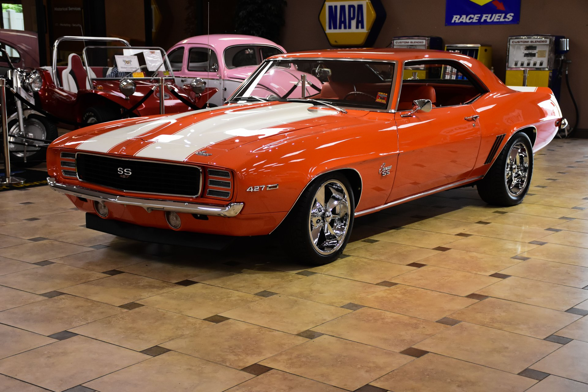 1969 chevrolet camaro rs ss restomod