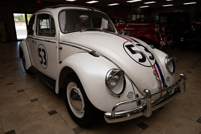 1967 volkswagen beetle herbie the love bug