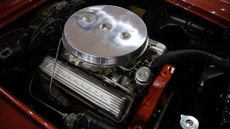 1958 chevrolet corvette 270hp 2x4bbl