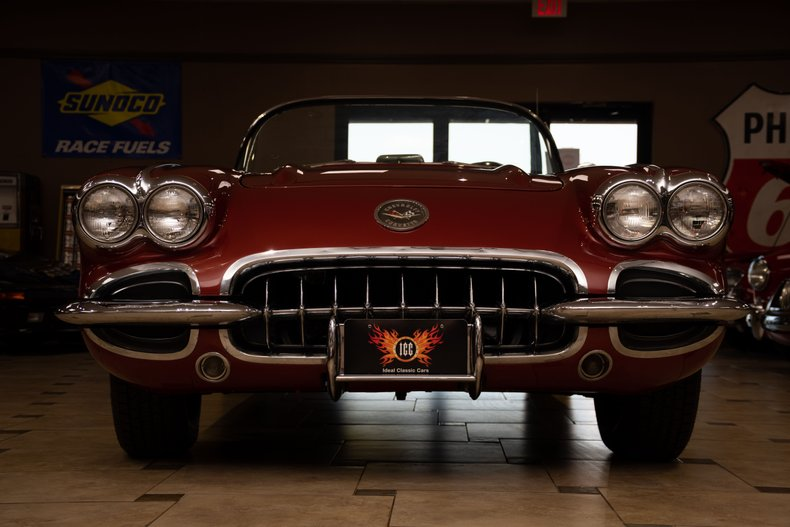1958 chevrolet corvette 270hp 2x4bbl