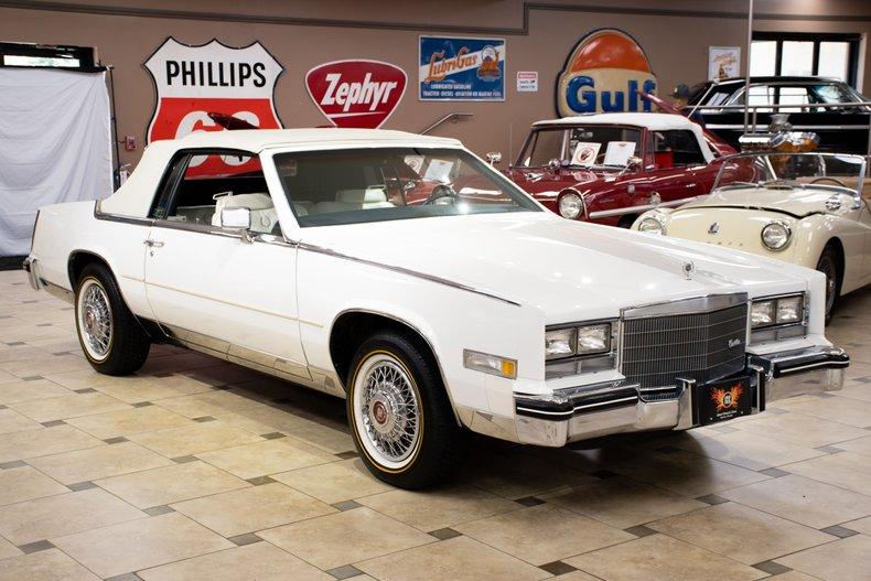 1984 cadillac eldorado convertible