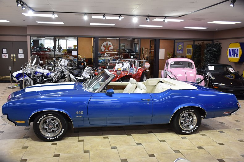 1970 oldsmobile 442 w 30 convertible