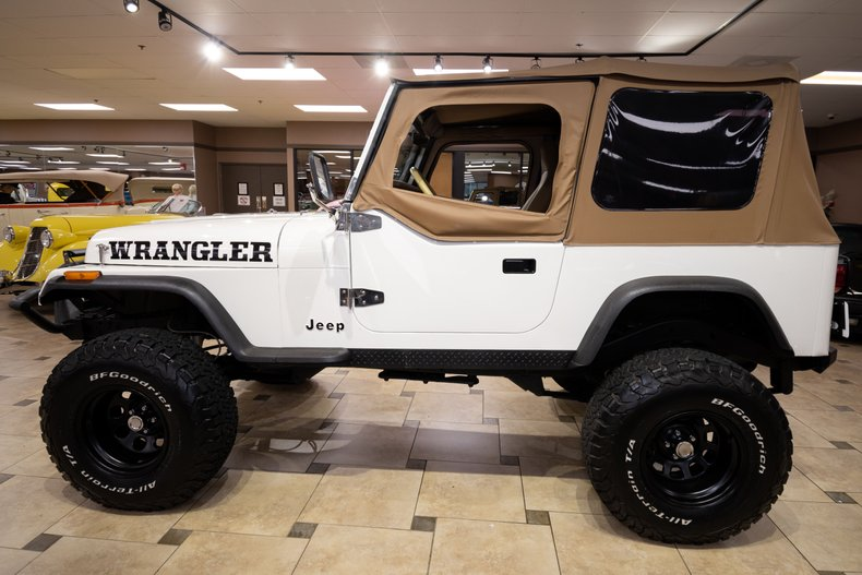 1987 jeep wrangler yj 360c i v8