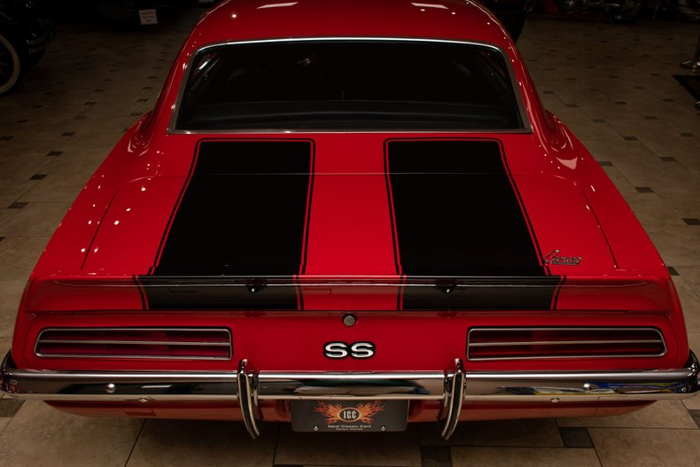 1969 chevrolet camaro ss restomod