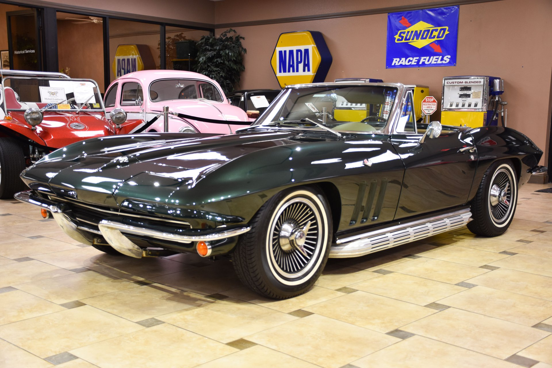 1965 chevrolet corvette convertible restomod