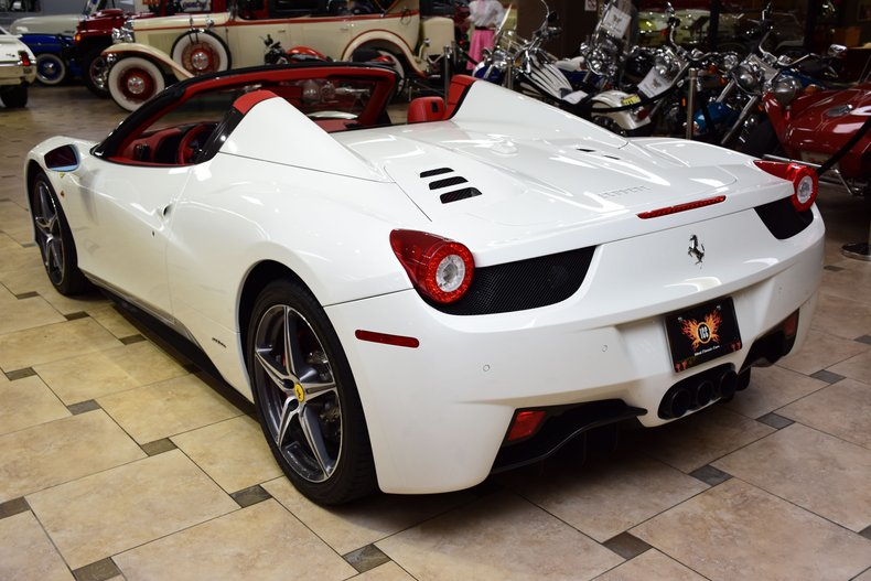 2015 ferrari 458 spider original msrp 333k