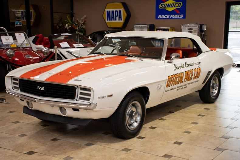 1969 chevrolet camaro z11 pace car