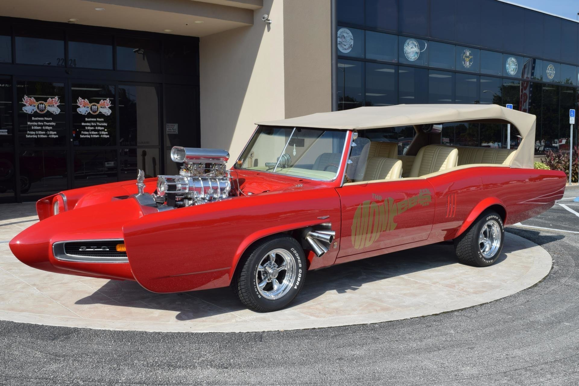 1967 Z Movie CAR THE Monkees Mobile