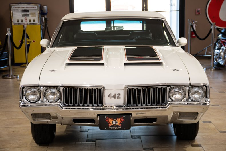 1970 oldsmobile 442 y74 code pace car