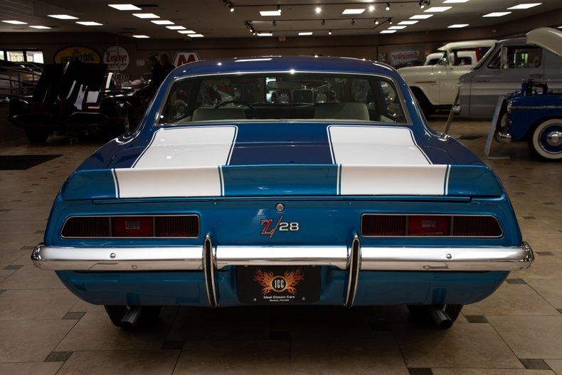 1969 chevrolet camaro z 28 x77
