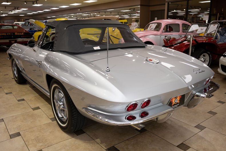 1963 chevrolet corvette convertible