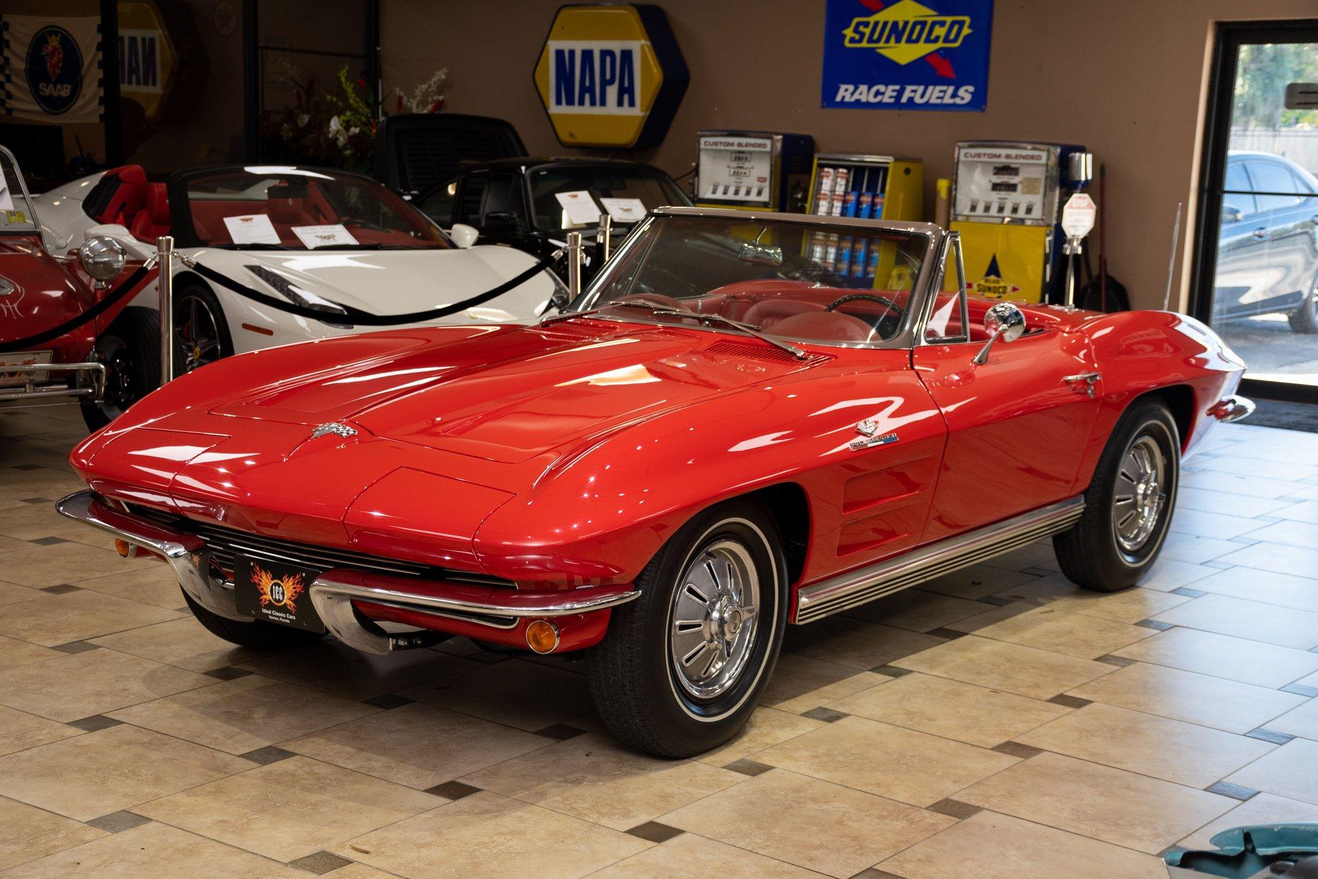 1964 chevrolet corvette fuelie convertible
