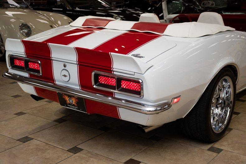 1968 chevrolet camaro convertible restomod