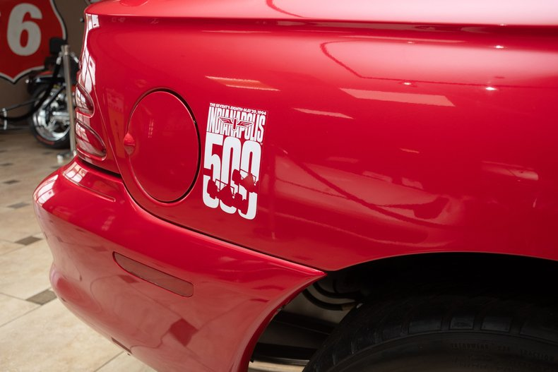 1994 ford mustang cobra pace car 185 miles