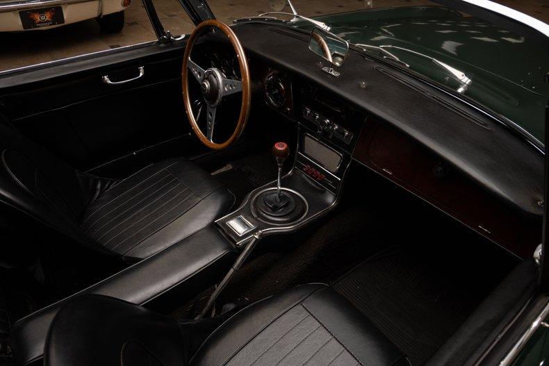 1966 austin healey 3000 mark iii