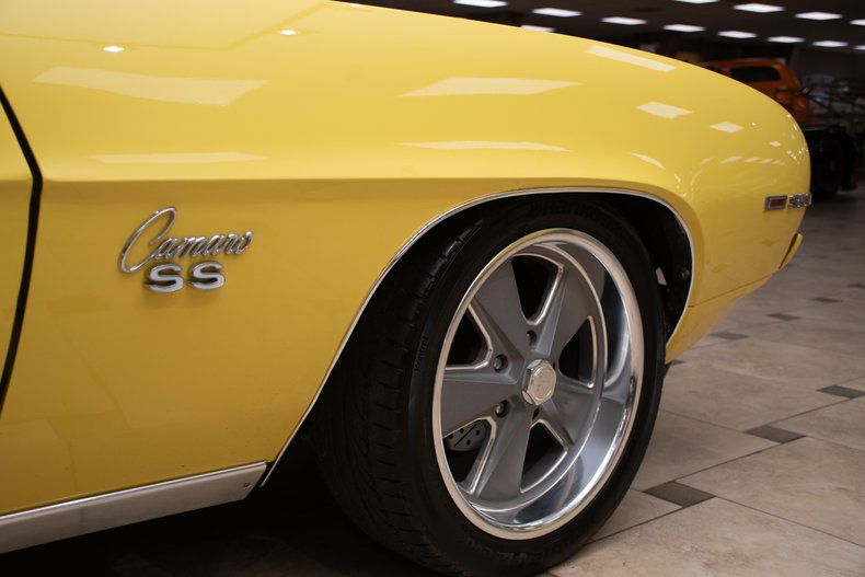 1969 chevrolet camaro rs ss restomod ls2