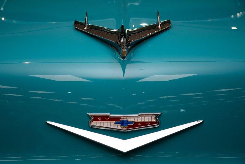 1956 chevrolet bel air restomod