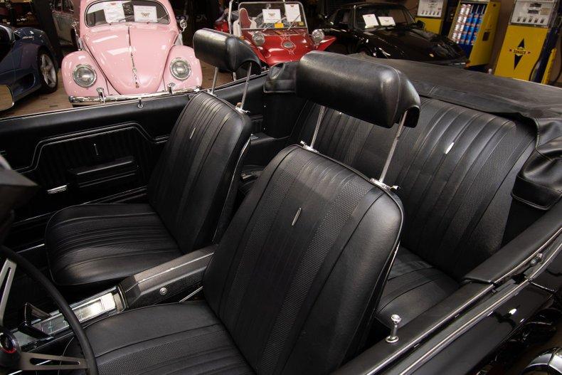 1970 chevrolet chevelle ss396 convertible