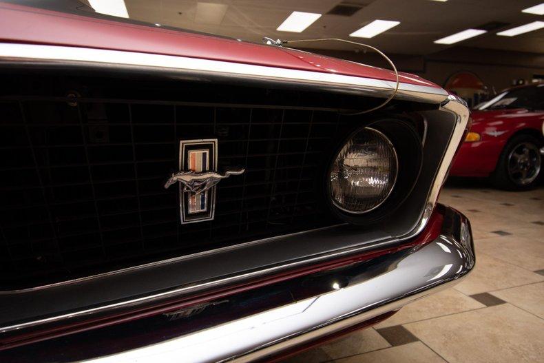1969 ford mustang mach 1 r code 428 cobra jet