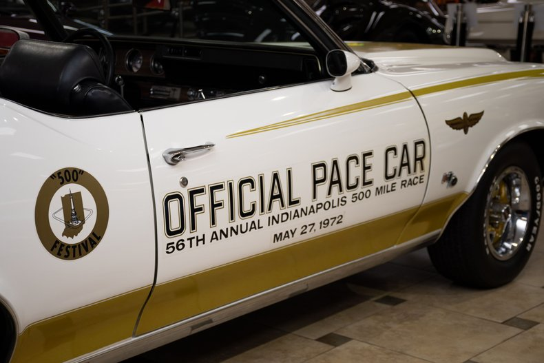 1972 oldsmobile cutlass w45 hurst olds pace car