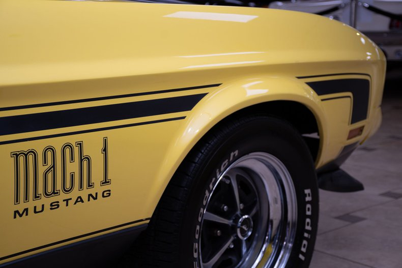 1971 ford mustang mach 1 429c i