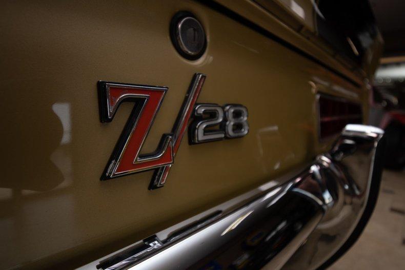 1969 chevrolet camaro rs z 28